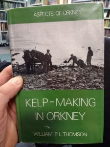 Kelp-making - a book at the Library
